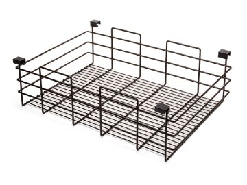 Wire drawer Moka for wardrobes