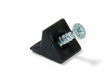 Pre-assembled angle fastener